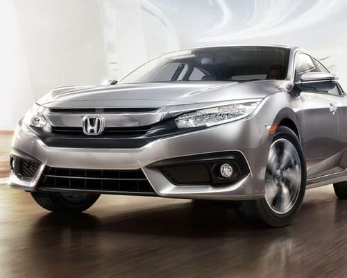 2018 Honda Civic Sedan front exterior