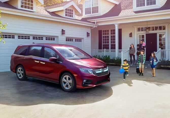 2019 Honda Odyssey at home