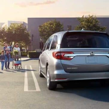 2019 Honda Odyssey in parking lot
