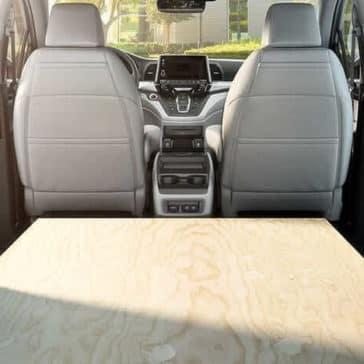 2019 Honda Odyssey rear interior