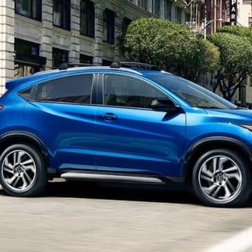 2019 Honda HR-V driving dynamic