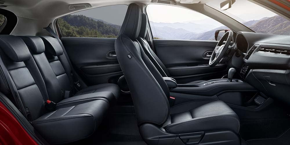 2019 Honda HR-V interior leather trim