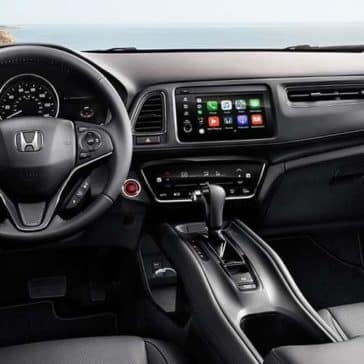 2019 Honda HR-V interior cockpit dashboard