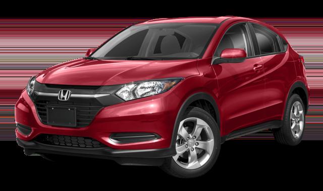 Red 2019 Honda HR-V 2