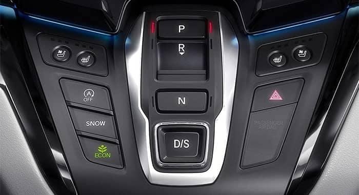 2019 Honda Odyssey Electronic Gear Selector