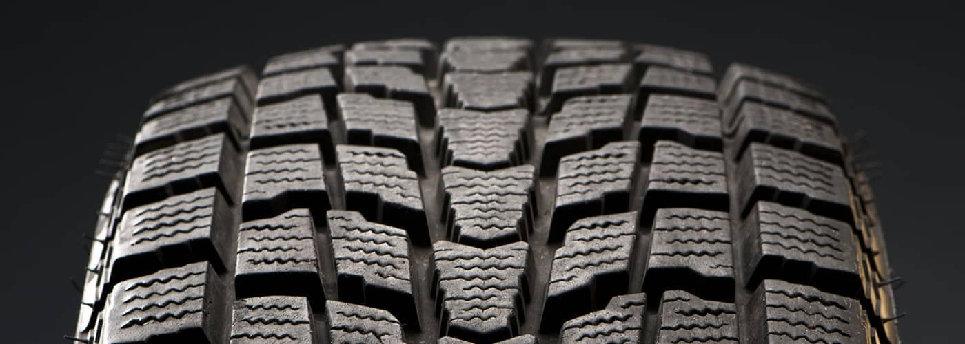 Close Up of Tire