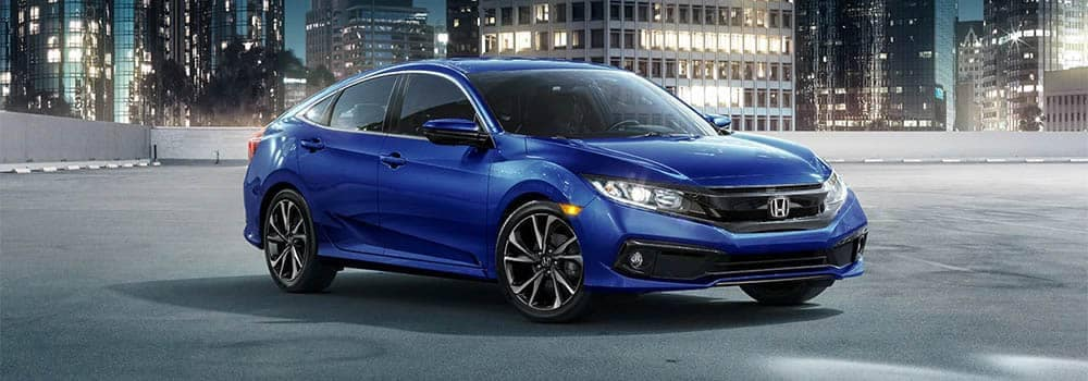 2019 Honda Civic Sedan Blue