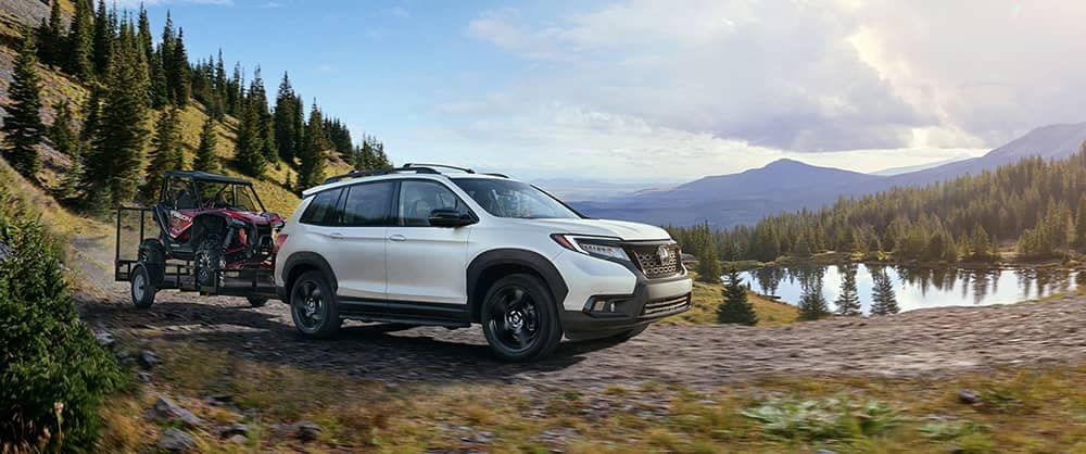2019 Honda Passport Parked