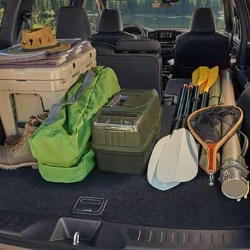 2019 Honda Passport Cargo Space