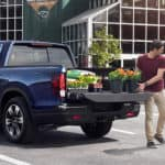 Couple Loading Plants Into Honda Ridgeline