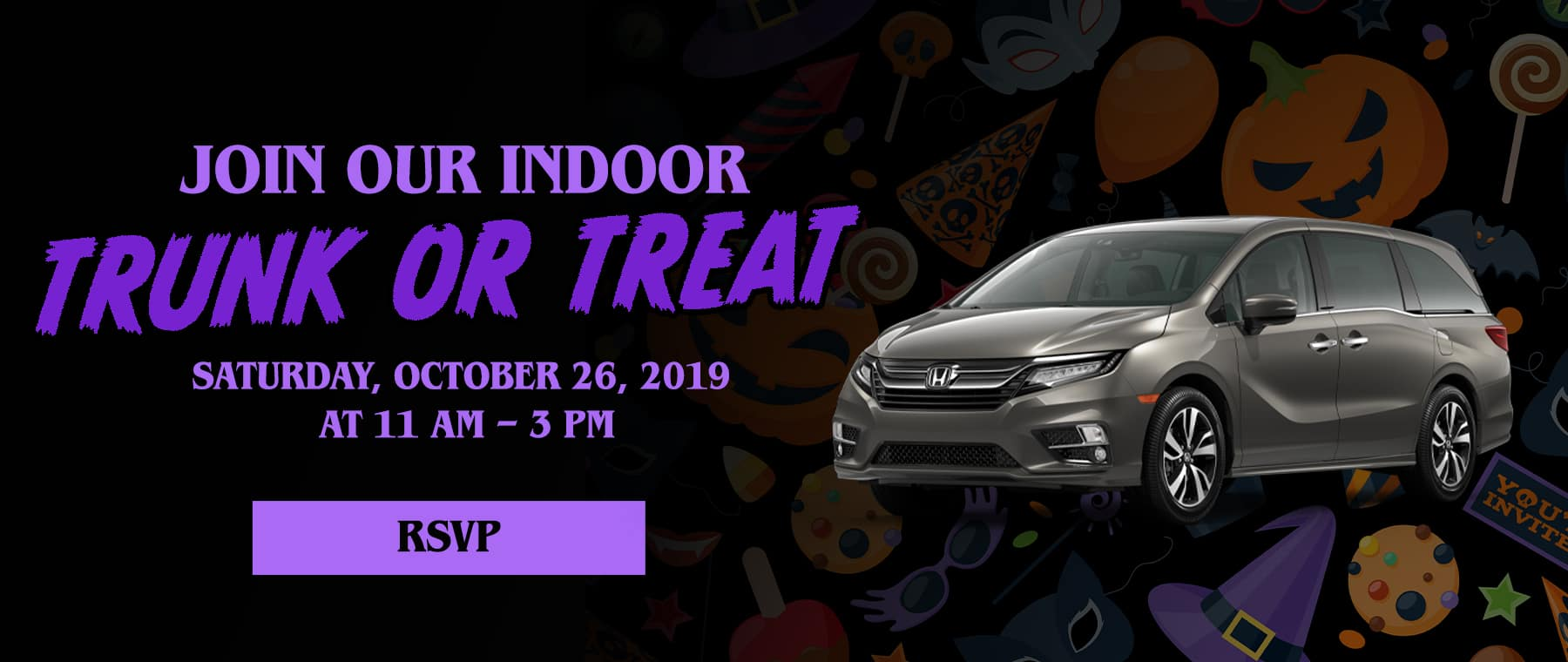 Trunk or Treat With Us!