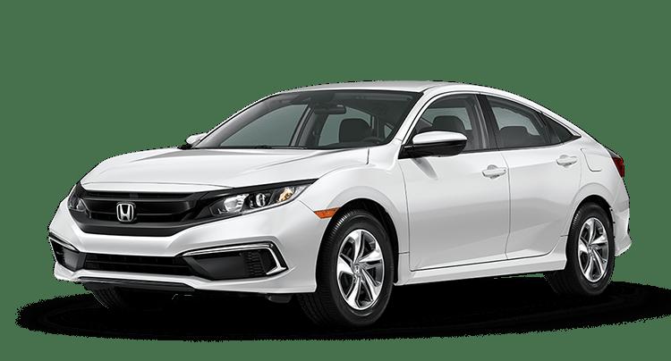 2020 Honda Civic White