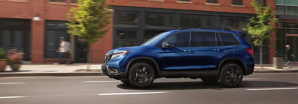 Honda Passport Driving