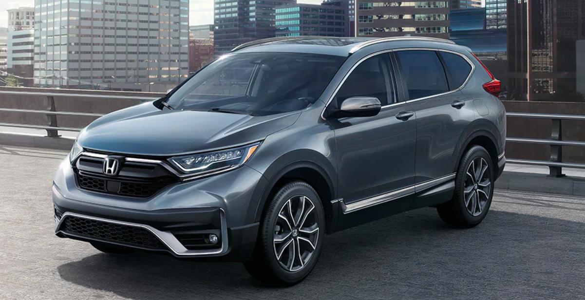 2020 Honda CR-V Parked in Parking Lot