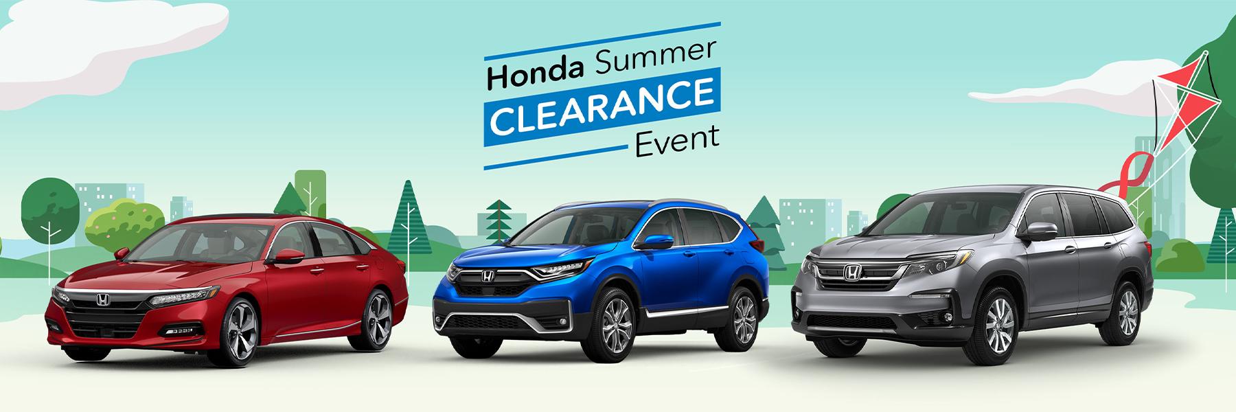 Honda Summer Event