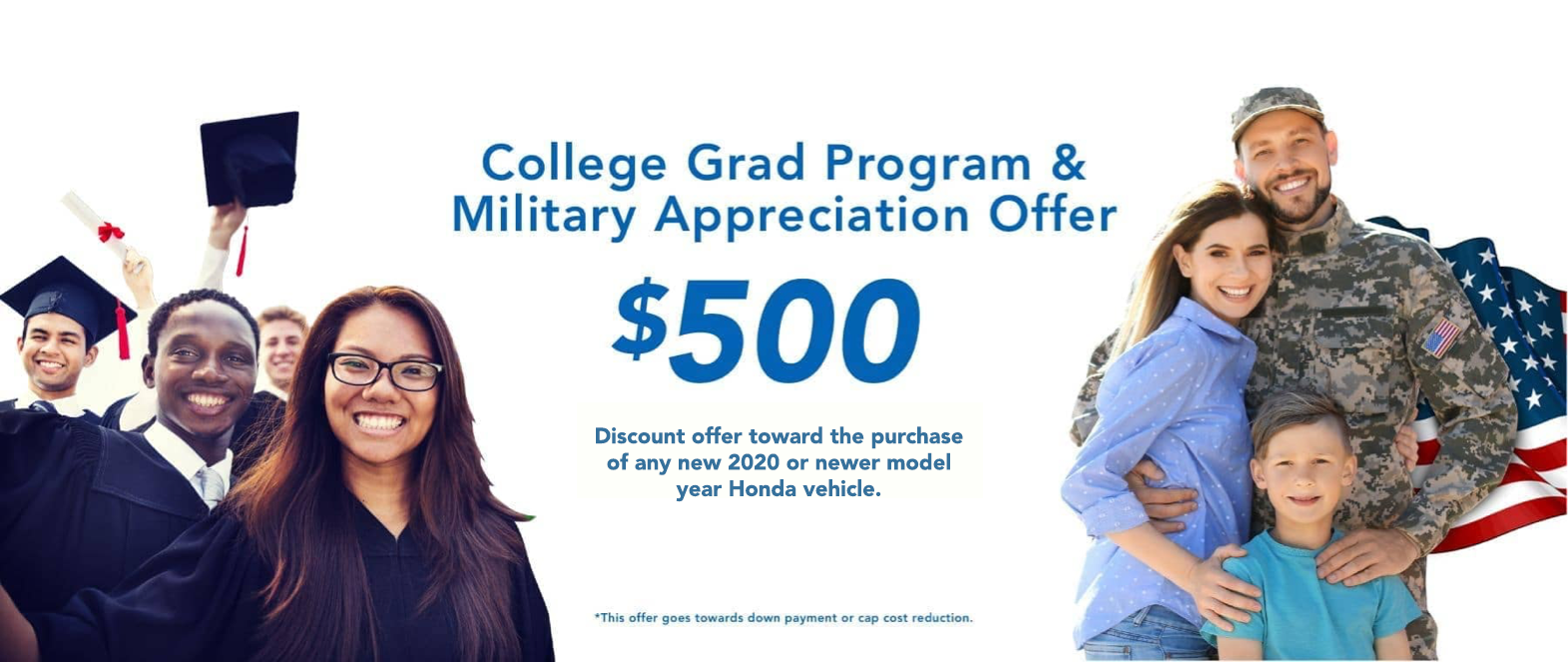 college:miltary offer