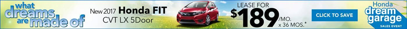 Lease Honda Fit $189
