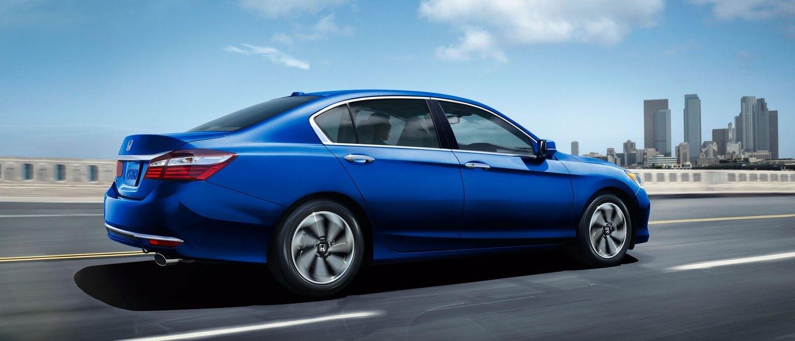 2017 Honda Accord Sedan blue exterior