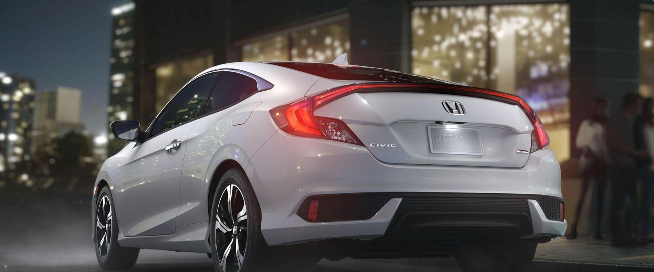 2016 Honda Civic Coupe rear view