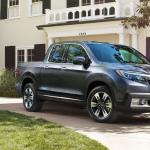 2017 Honda Ridgeline dark exterior