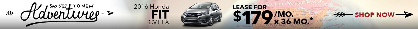 Lease Honda Fit $179:mo