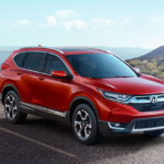 2017 Honda CR-V Red