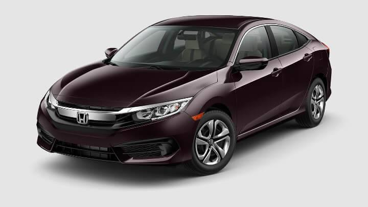 New 2017 Honda Civic LX 4Door