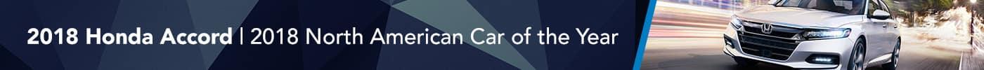 Honda Accord North American Car of the Year