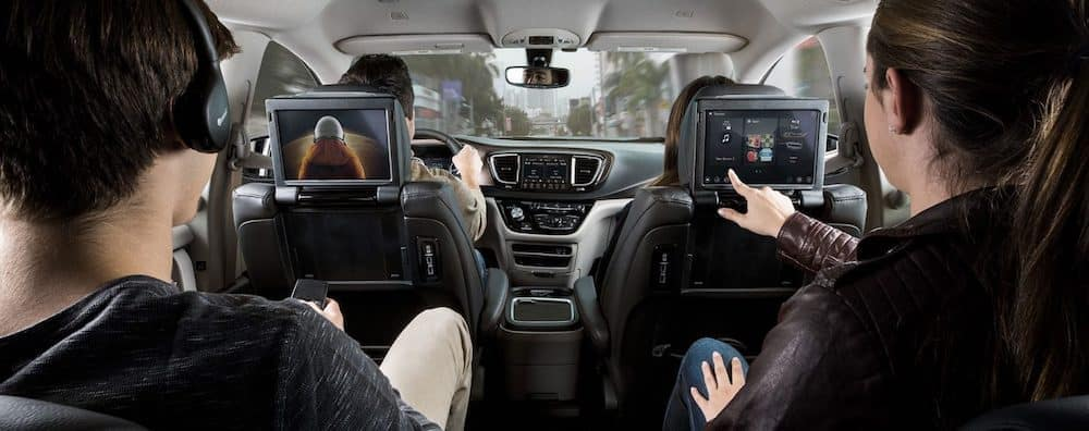 Uconnect Rear Entertainment