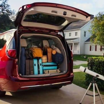 2019 Chrysler Pacifica cargo space