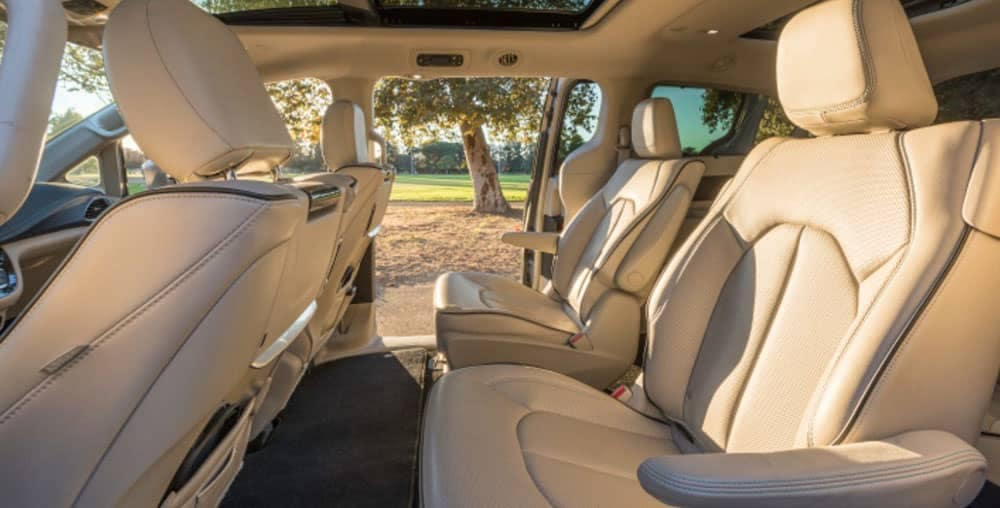 2019 Chrysler Pacifica interior seating