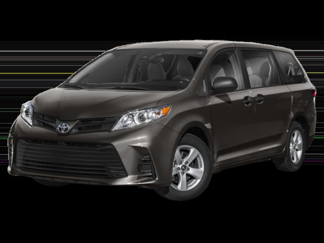 Gray 2019 Toyota Sienna