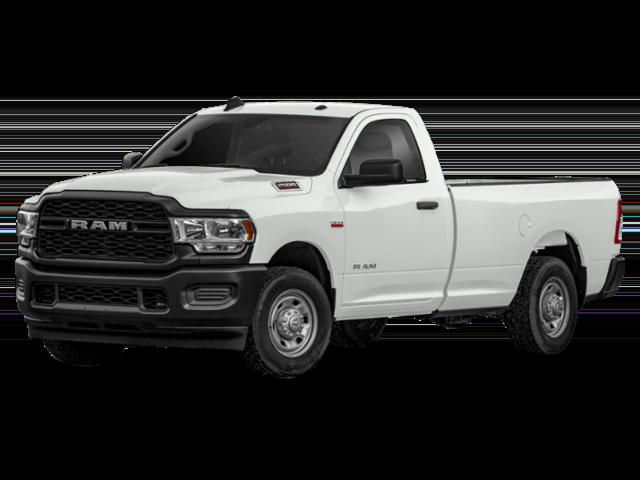 White 2019 Ram 2500