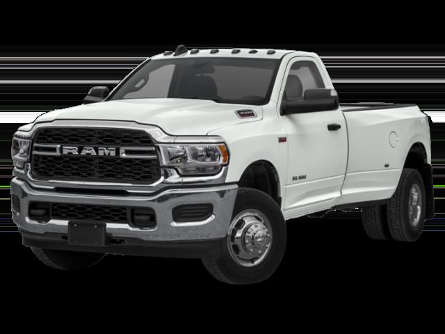 White 2019 Ram 3500