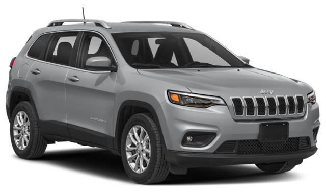 Gray 2019 Jeep Cherokee