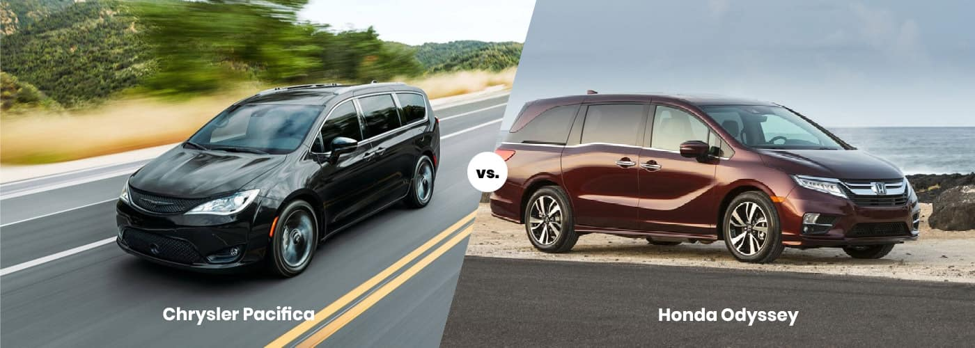2020 Chrysler Pacifica vs. 2020 Honda Odyssey