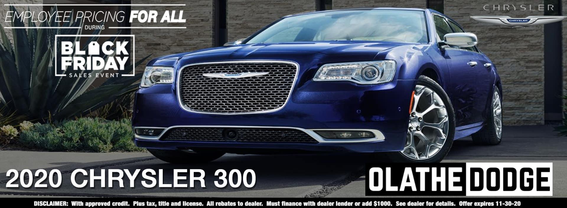 11.12.2020. Olathe Dodge. Chrysler 300. 1920×705