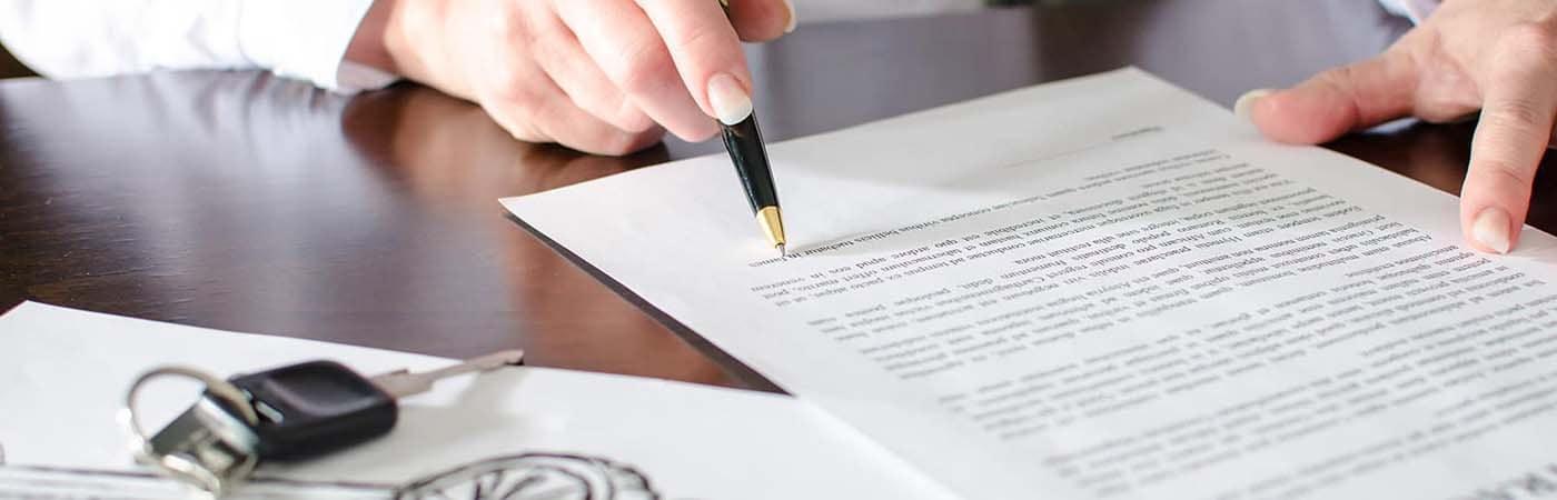Signing credit doc