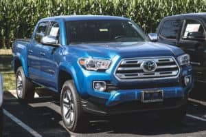 2018 Toyota Tacoma Limited 4D Double Cab