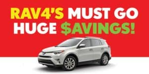 RAV4 Sale Event
