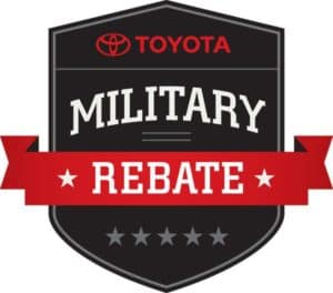 Peoria Toyota Military Rebate