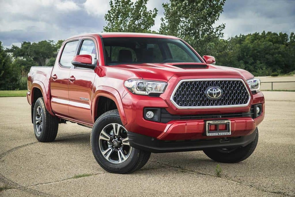 2018 Toyota Tacoma TRD Sport 4D Double Cab