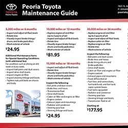Toyota Maintenance Guide