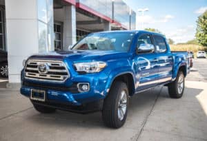 New 2018 Toyota Tacoma Limited 4D Double Cab: http://bit.ly/2tRPh0o