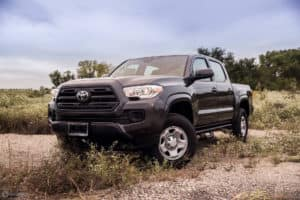Big price reduction on our New 2018 Toyota Tacoma SR 4D Double Cab! Take a look: http://bit.ly/2IgxFkQ