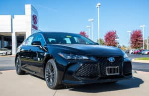 Our spotlight vehicle of the week - our new 2019 Toyota Avalon Hybrid XSE With Navigation! Take a closer look: http://bit.ly/2EHNF0Z