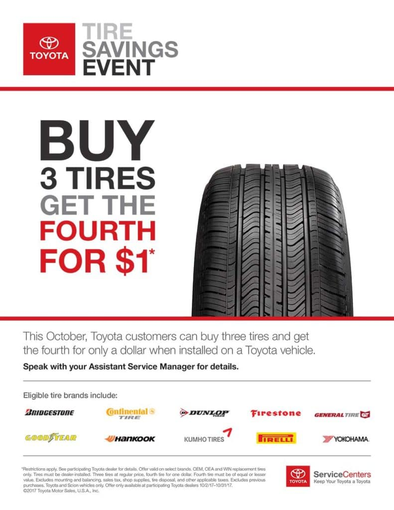 Toyota Tire Event