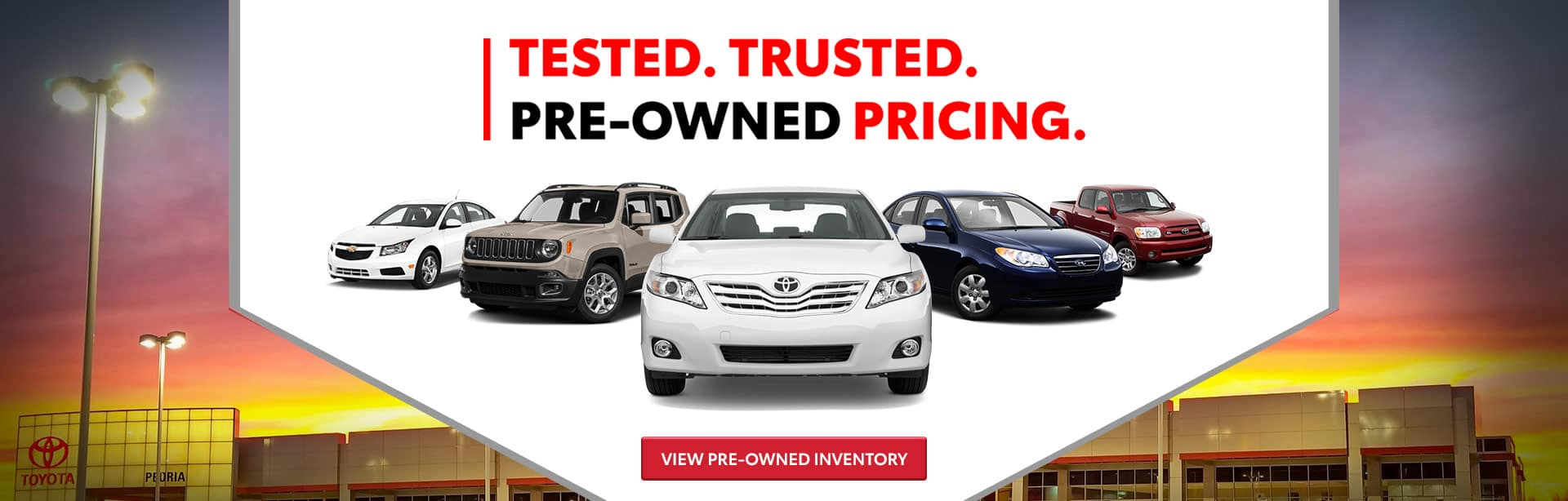 Car Dealerships Peoria Il >> Peoria Toyota Toyota Sales Service And Financing In