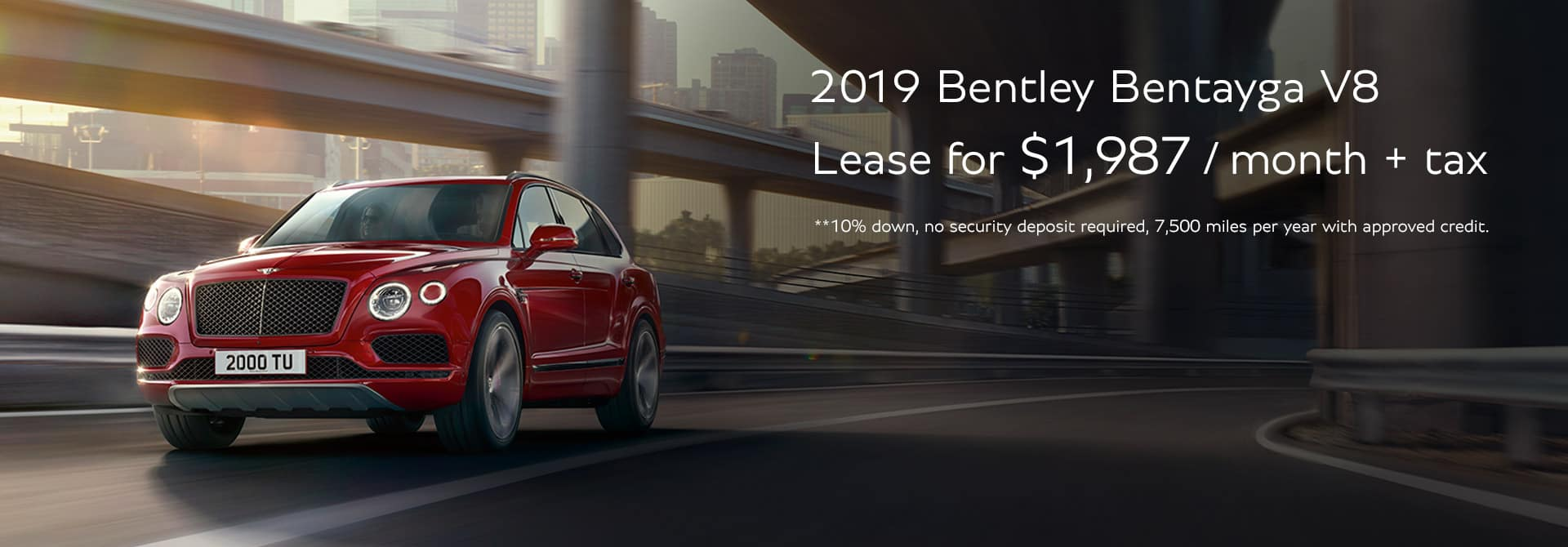 Bentayga Lease Offer
