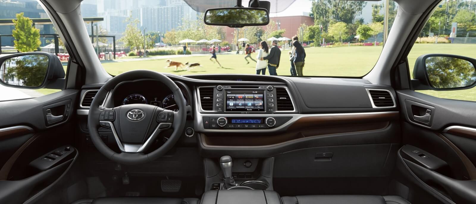 ... 2015 Toyota Highlander Interior ...